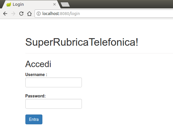 SuperRubrica login